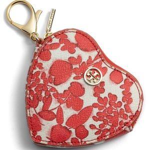 NWT🌺Tory Burch Kerrington coin purse key fob- new